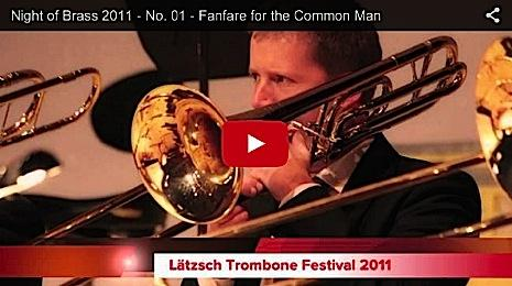 Night of Brass 2011 - Fanfare for the Common Man