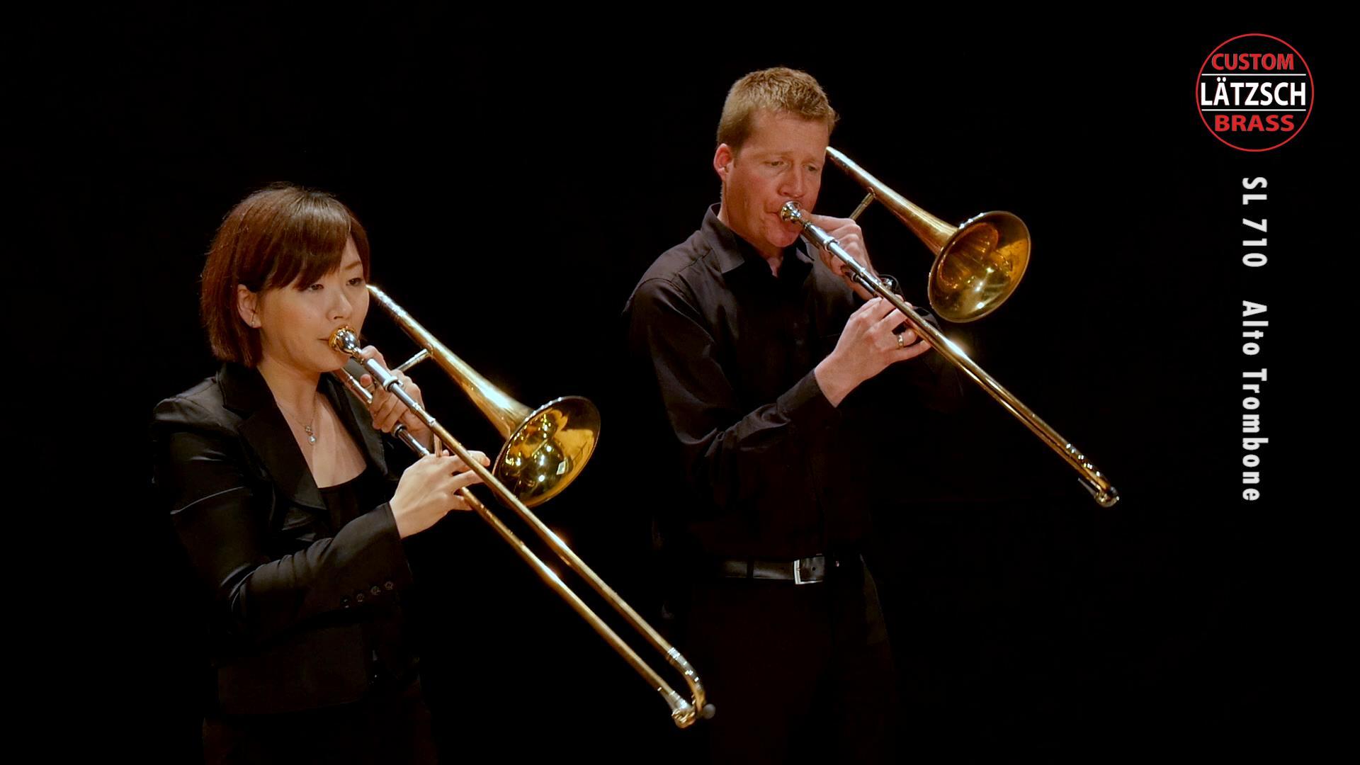 Lätzsch SL 710 Professional Alto Trombone