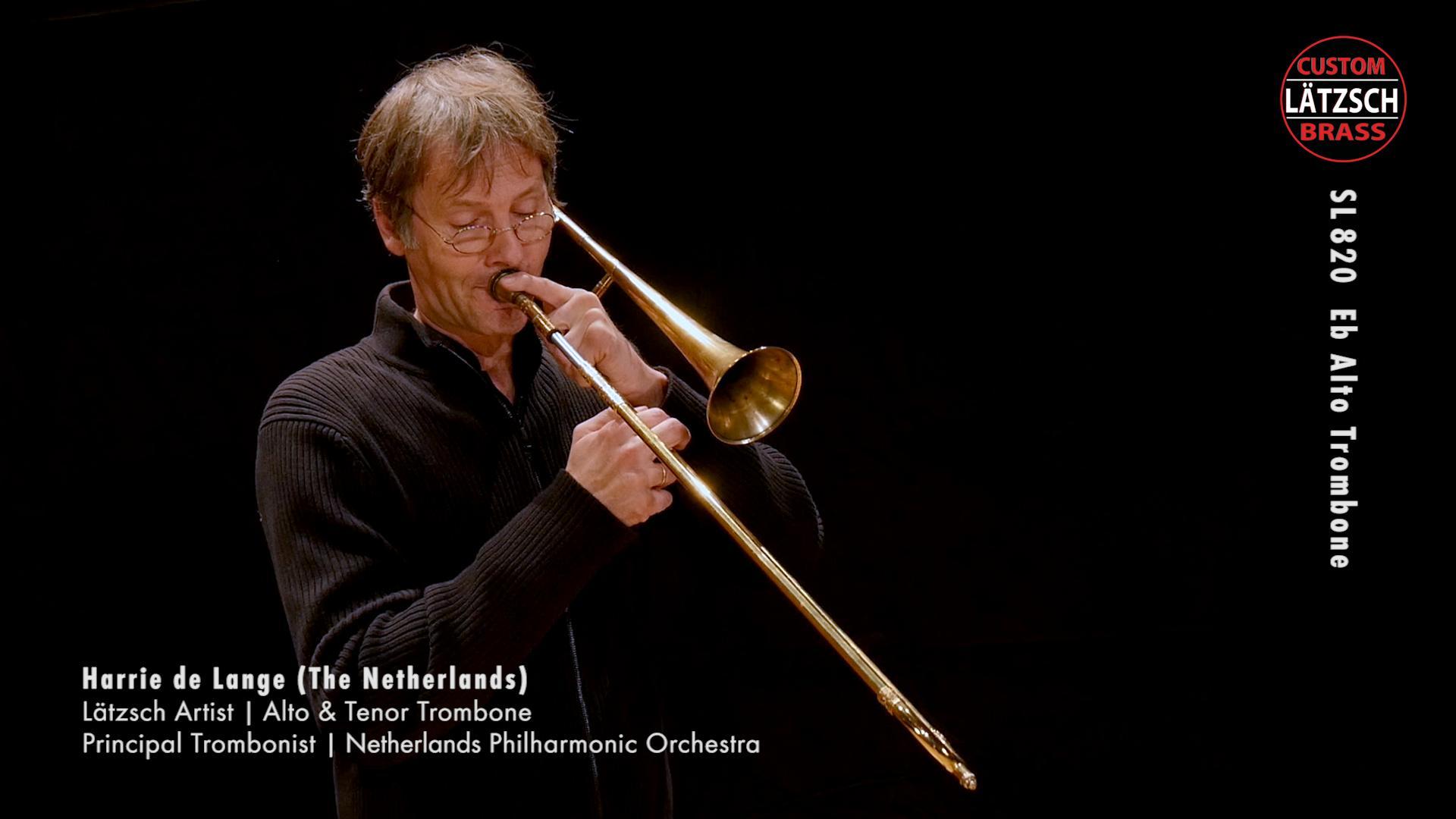 Lätzsch Baroque Trombones SL-800, SL-820, SL-840